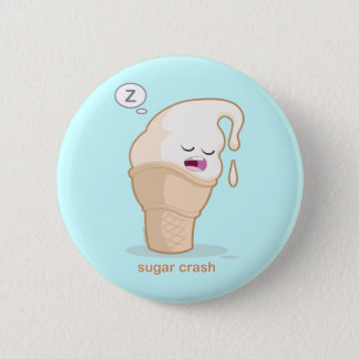 Sugar Crash 2 Inch Round Button