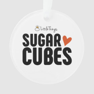 Sugar Cube Christmas Ornament