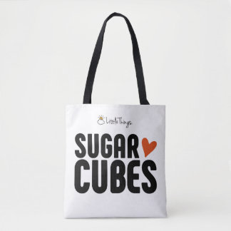 Sugar Cube Tote Bag With Furbaby
