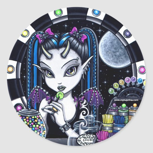 Sugar Cute Horned Candy Store Faery Stickers