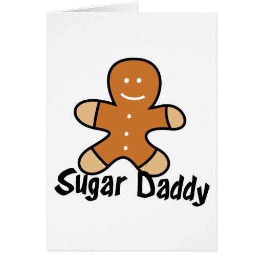 Sugar Daddy Gingerbread Man Cards