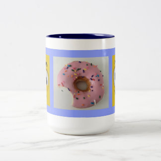 Sugar Fix Two-Tone Coffee Mug