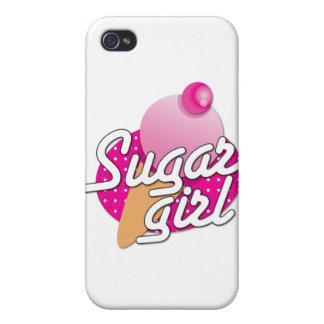 Sugar Girl rockabilly icecream iPhone 4 Case