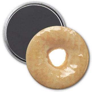 Sugar-Glazed Doughnut 3 Inch Round Magnet