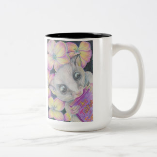 Sugar Glider Coffee Mug Full of Squee Cuteness!