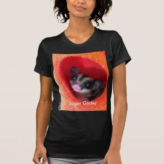 Sugar Glider in Orange Hanging Bed T-Shirt