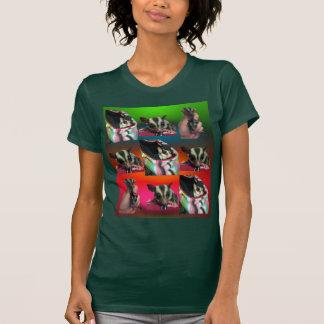 Sugar Glider Tile Pattern Womens Shirt