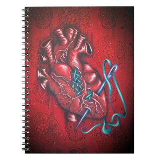 Sugar Heart Notebook