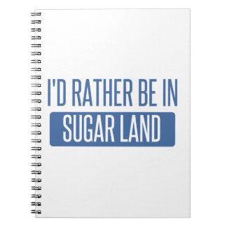Sugar Land Notebook