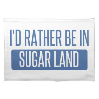Sugar Land Placemat