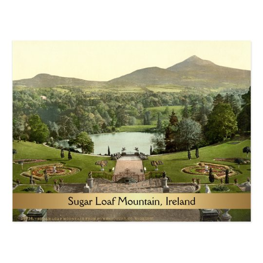 Sugar Loaf Mountain, County Wicklow, Ireland Postcard