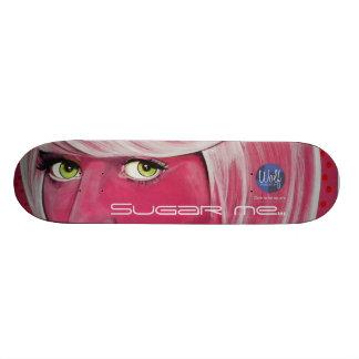 Sugar me….- Dare to be Square Custom Skateboard