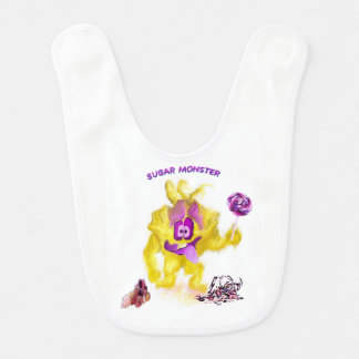 Sugar Monster Bib