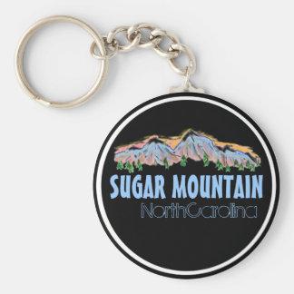 Sugar Mountain North Carolina mountains keychain