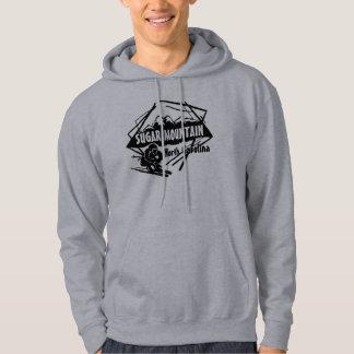 Sugar Mountain North Carolina ski logo hoodie