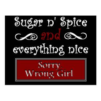 Sugar n' Spice Postcard