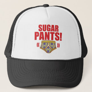 Sugar Pants Flowery Trucker Hat