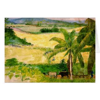 Sugar Plantation 1808 Card
