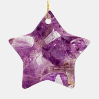 Sugar Plum Fairy Crystals Ceramic Ornament