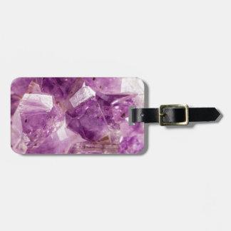 Sugar Plum Fairy Crystals Luggage Tag