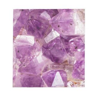 Sugar Plum Fairy Crystals Notepad