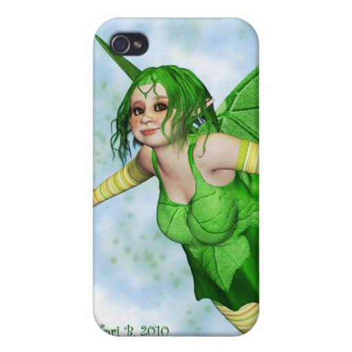 Sugar Plump Fairies-Lemon Lime iPhone 4 Cases