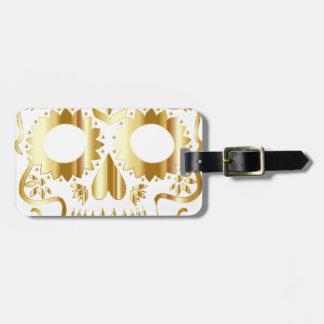 sugar-skull-1782019 luggage tag