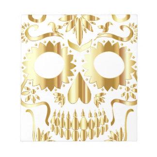 sugar-skull-1782019 notepad