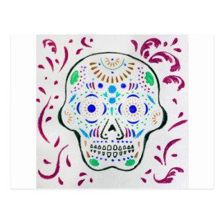 Sugar Skull 6 Postcard
