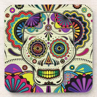 Sugar Skull Art / Day of the Dead coasters