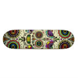 "Sugar Skull Art ""Day of the Dead"" Skateboards"