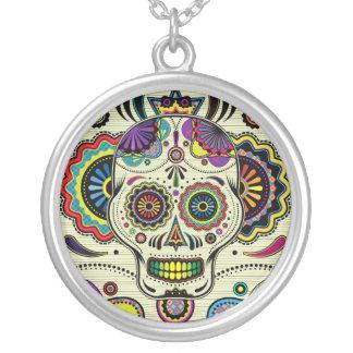 Sugar Skull Art necklace