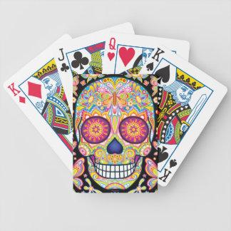 Sugar Skull Art Playing Cards