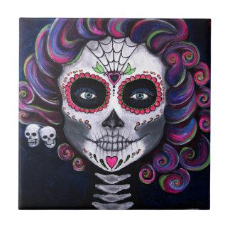 Sugar Skull Candy 2 Tile