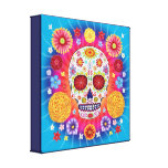 Sugar Skull Canvas Prints