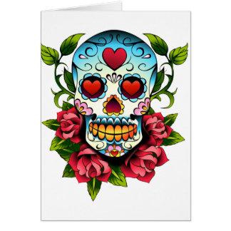 Sugar Skull Card