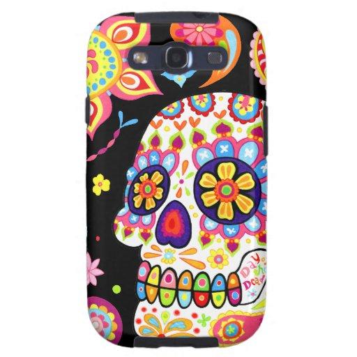 Sugar Skull Galaxy S3 Case