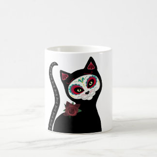 Sugar Skull Cat Coffee mug