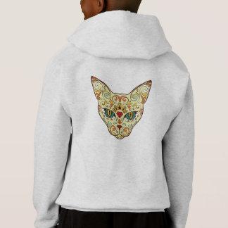 Sugar Skull Cat - Tattoo Design
