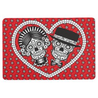 Sugar Skull Couple Floor Mat