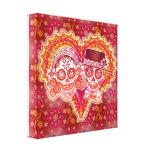 Sugar Skull Couple Gallery Wrap Canvas
