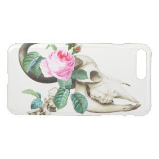 Sugar Skull Cow Rose iPhone 8 Plus/7 Plus Case