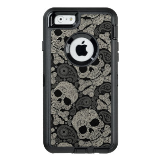 Sugar Skull Crossbones Pattern Apple iPhone 6 Case