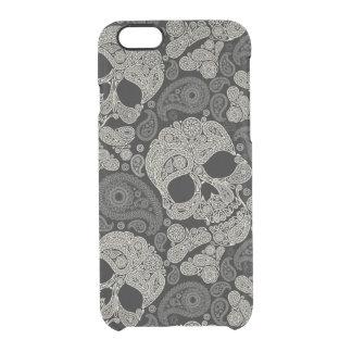 Sugar Skull Crossbones Pattern iPhone 6 Case