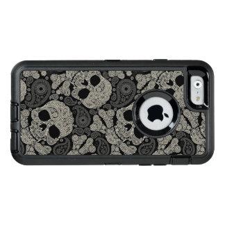 Sugar Skull Crossbones Pattern OtterBox iPhone 6/6s Case