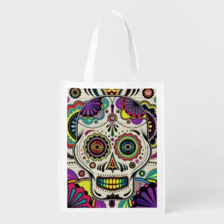 Sugar Skull Day of the Dead Aztec Bag