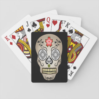 Sugar Skull Day of the Dead Halloween Cards