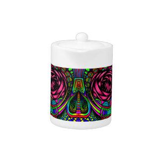Sugar Skull Day of the Dead Rainbow Colorful Art