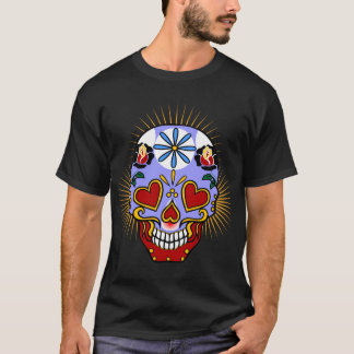 Sugar Skull Day of the Dead T-Shirt