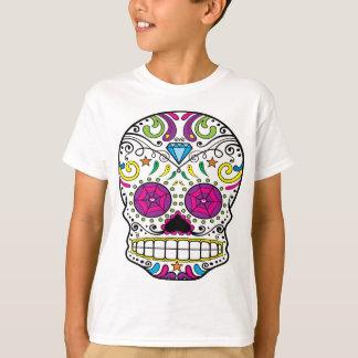 Sugar Skull Dia Des Los Muertos Styled Apparel T-Shirt